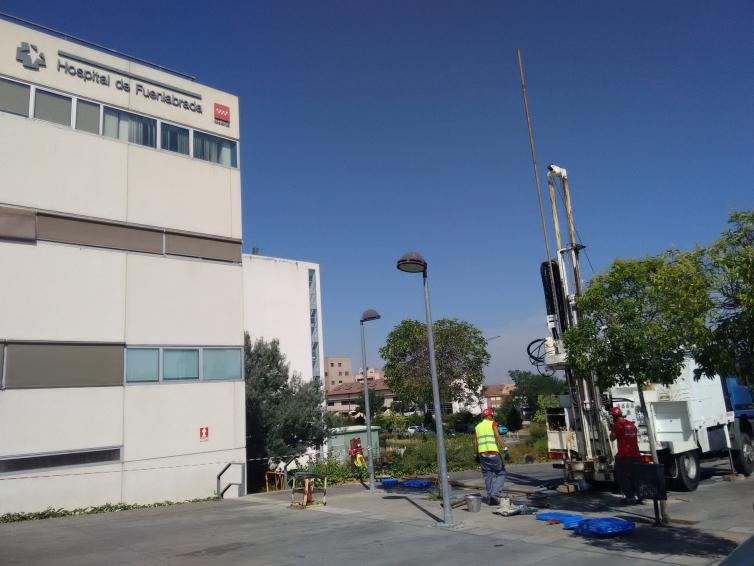 Ampliación del área de Urgencias del Hospital de Fuenlabrada (Madrid)