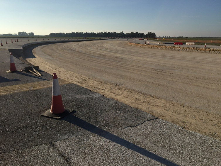 Taxiway Repairs and Drainage Improvements. Base aérea de Morón de la Frontera (Sevilla).