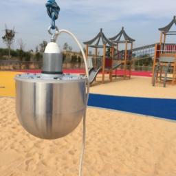 inspección en parque infantil