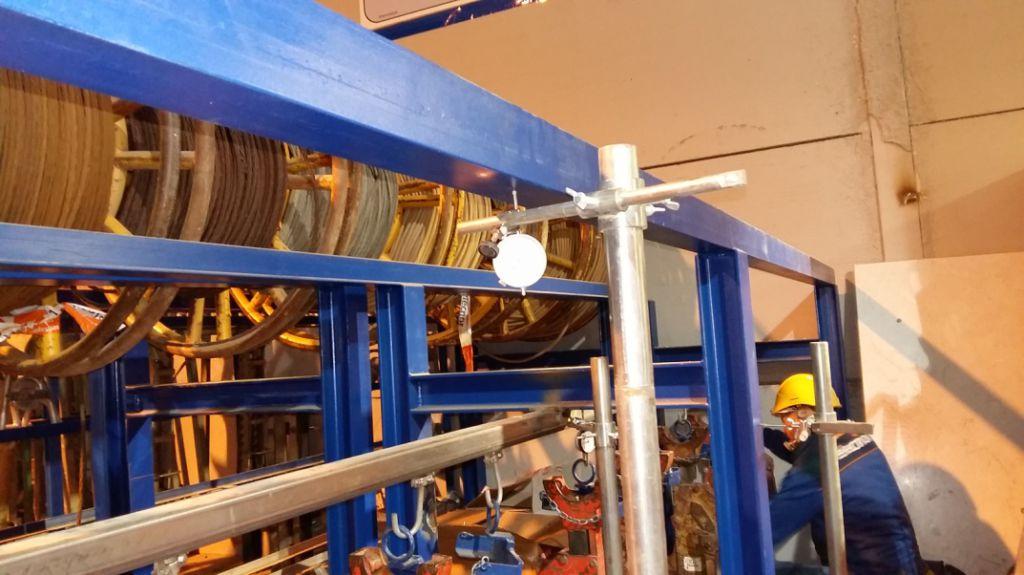como revisar estanterías industriales