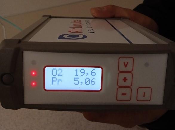 Control de gases medicinales